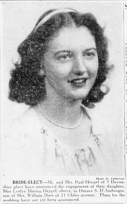 DAmbrogio Bride Photo Asheville_Citizen_Times_Sun__Sep_22__1946_