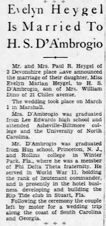 DAmbrogio Wedding Asheville_Citizen_Times_Sun__Mar_14__1948_
