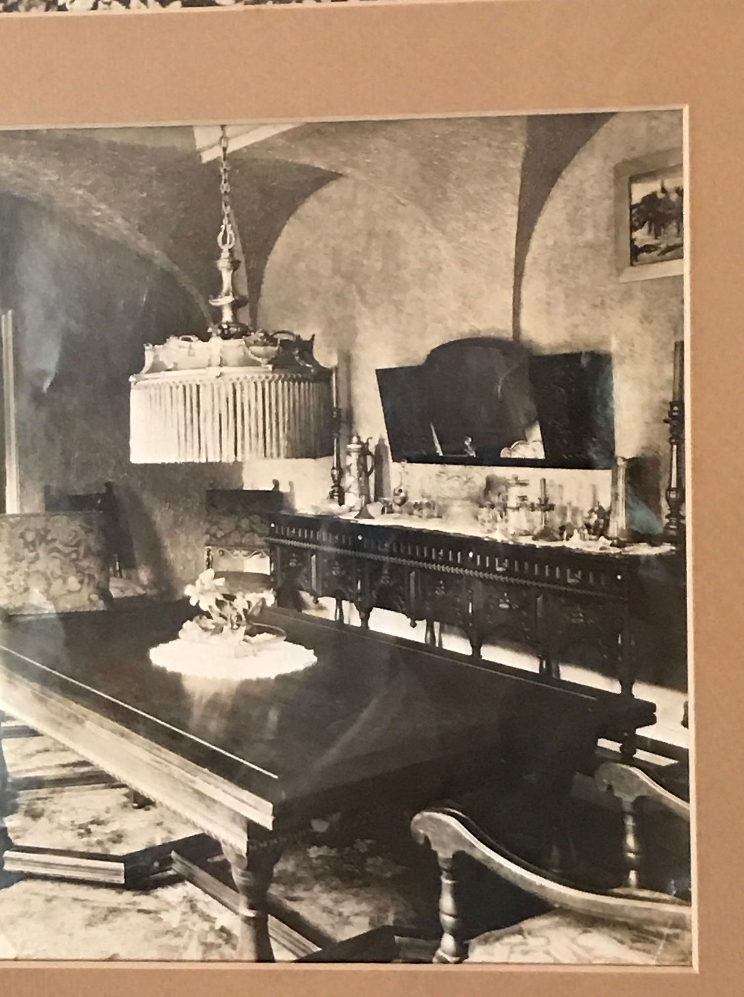 The Dining Room In A Photo Taken By The Famous Photographer George Masa App  1925. Our Thanks To Anne And Nancy Chiles For This Photo.